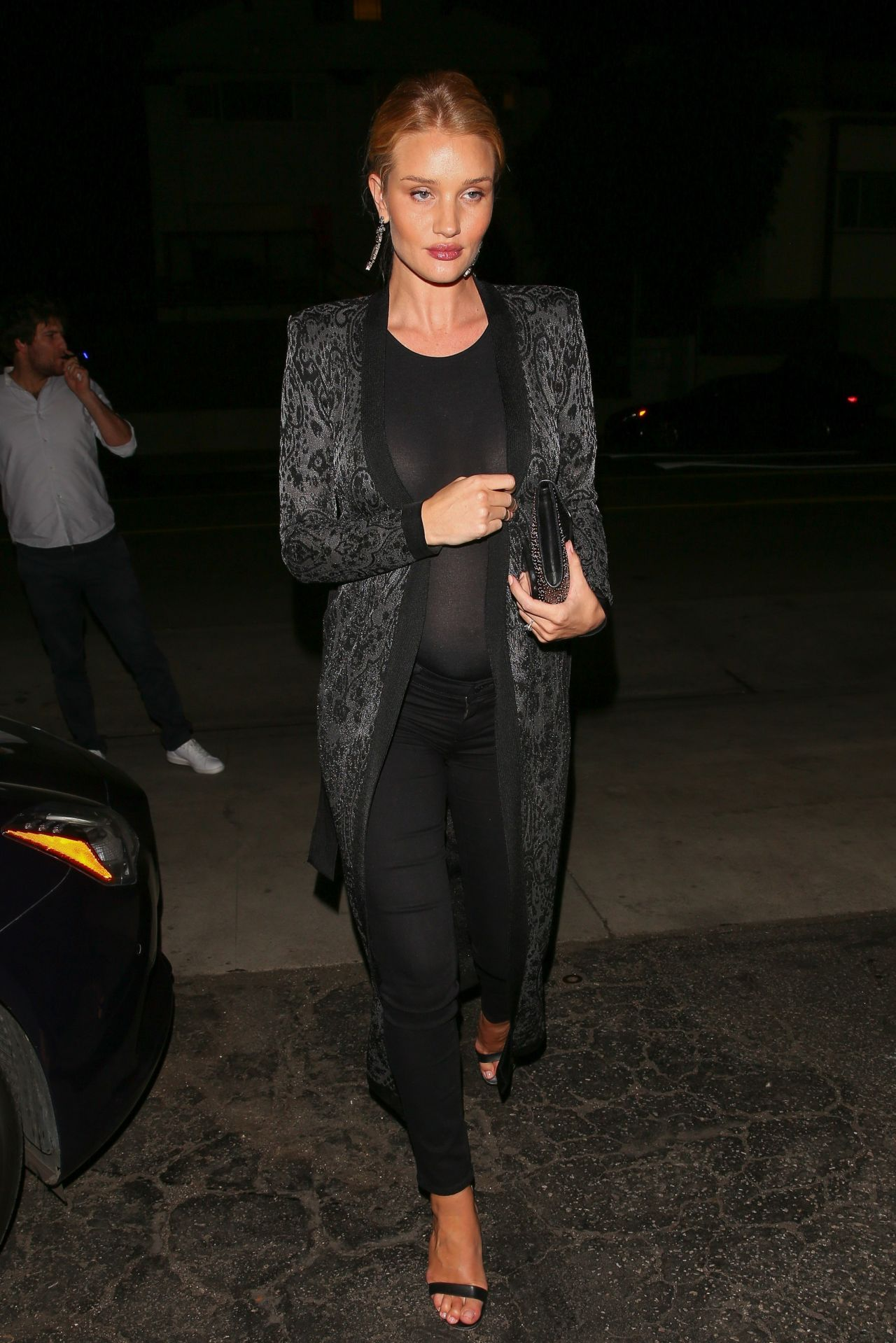 Rosie Huntington-Whiteley Night Out Style - Los Angeles 3 ...