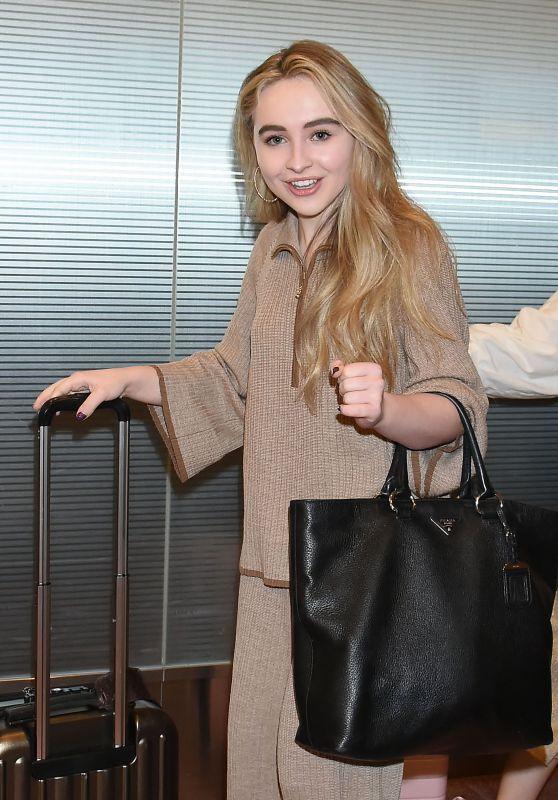 Sabrina Carpenter - Arriving in Tokyo 3/24/ 2017