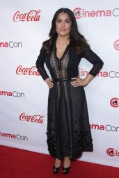 Salma Hayek – Big Screen Achievement Awards at CinemaCon, Las Vegas 3/30/2017