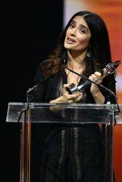 Salma Hayek – Big Screen Achievement Awards at CinemaCon, Las Vegas 3/30/2017