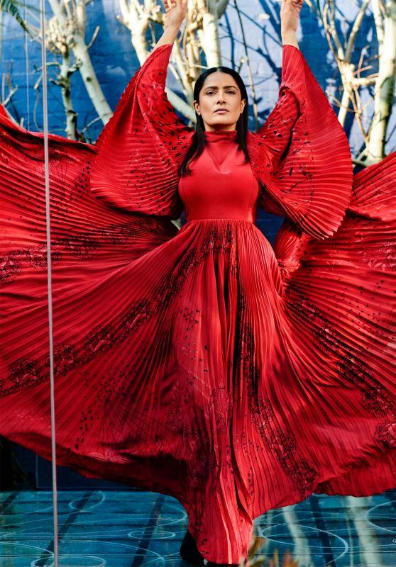 Salma Hayek - DuJour Magazine Spring 2017 Issue