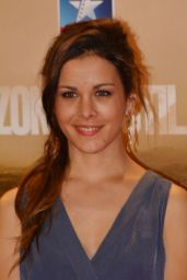 Sandra Blazquez – 'Zona Hostil' Premiere in Madrid 3/9/ 2017
