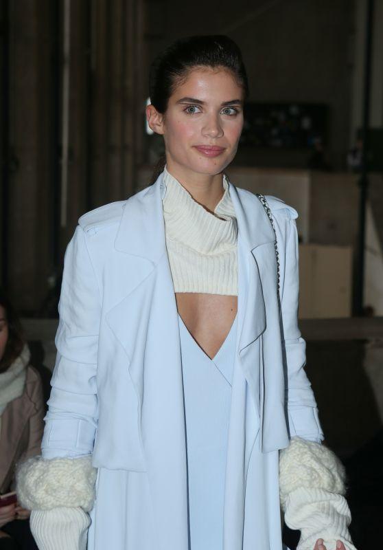 Sara Sampaio - Mugler Fashion Show in Paris 3/4/ 2017