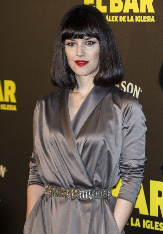 "Sara Vega – ""El Bar"" Movie Premiere in Madrid 3/22/ 2017"