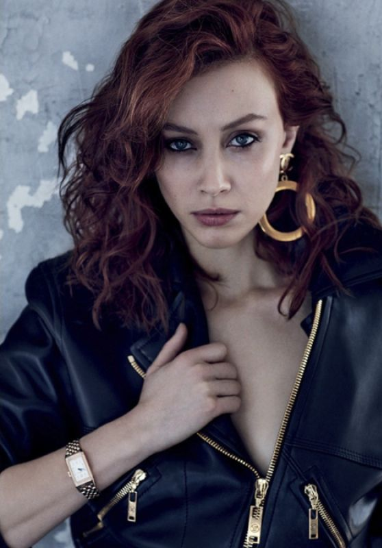Sarah Gadon - Photoshoot for Vogue Russia March 2017