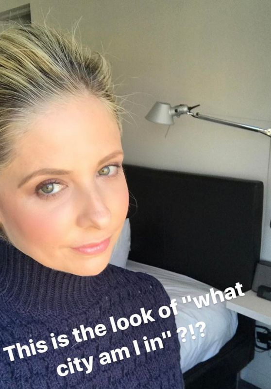 Sarah Michelle Gellar - Celebrity Social Media Pics, March 2017