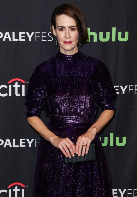 "Sarah Paulson - PaleyFest ""American Horror Story: Roanoke"" Presentation in LA 3/26/ 2017"