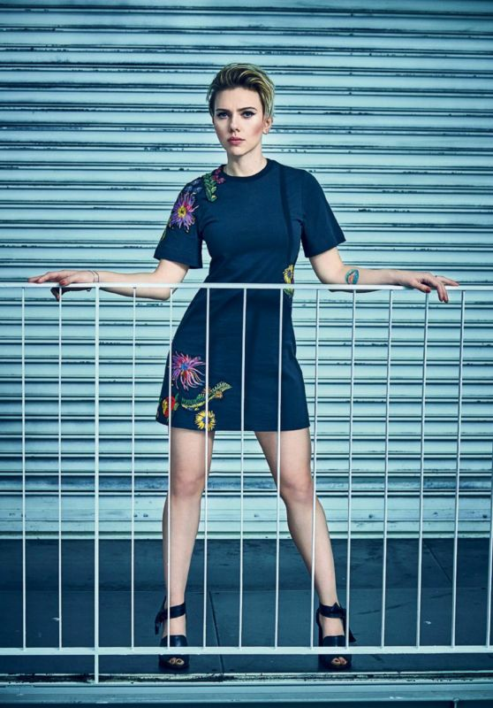 Scarlett Johansson - 8 Days Magazine, March 30, 2017