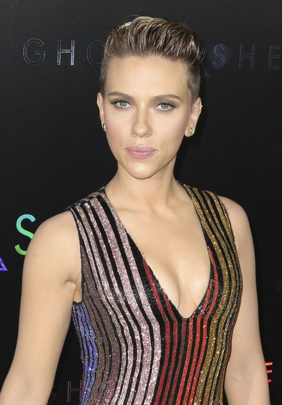 "Scarlett Johansson - ""Ghost In The Shell"" Premiere in NYC 3/29/2017"