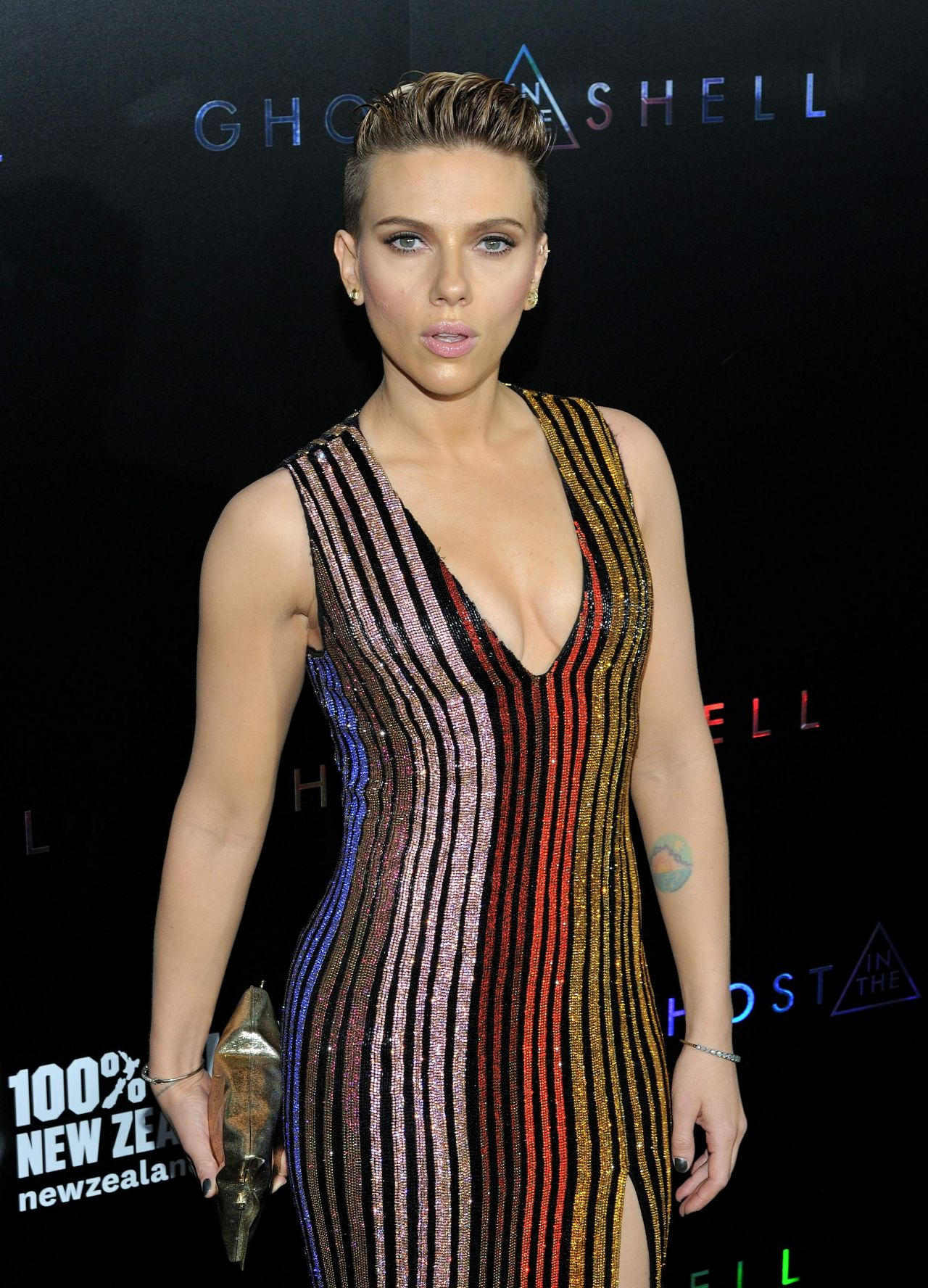 "Scarlett Johansson - ""Ghost In The Shell"" Premiere in NYC ... Scarlett Johansson"