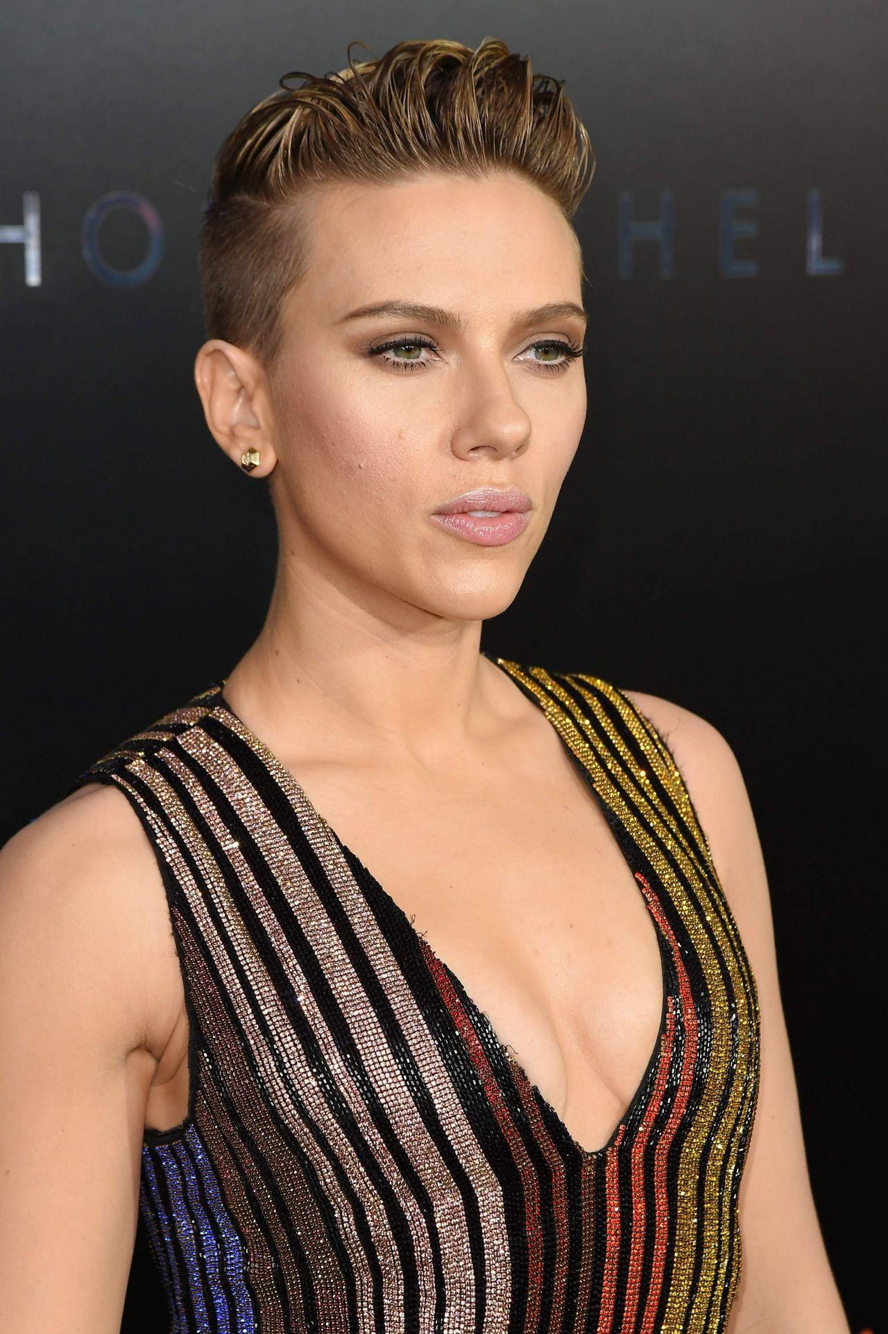 """Scarlett Johansson - """"Ghost In The Shell"""" Premiere in NYC ... Scarlett Johansson"""