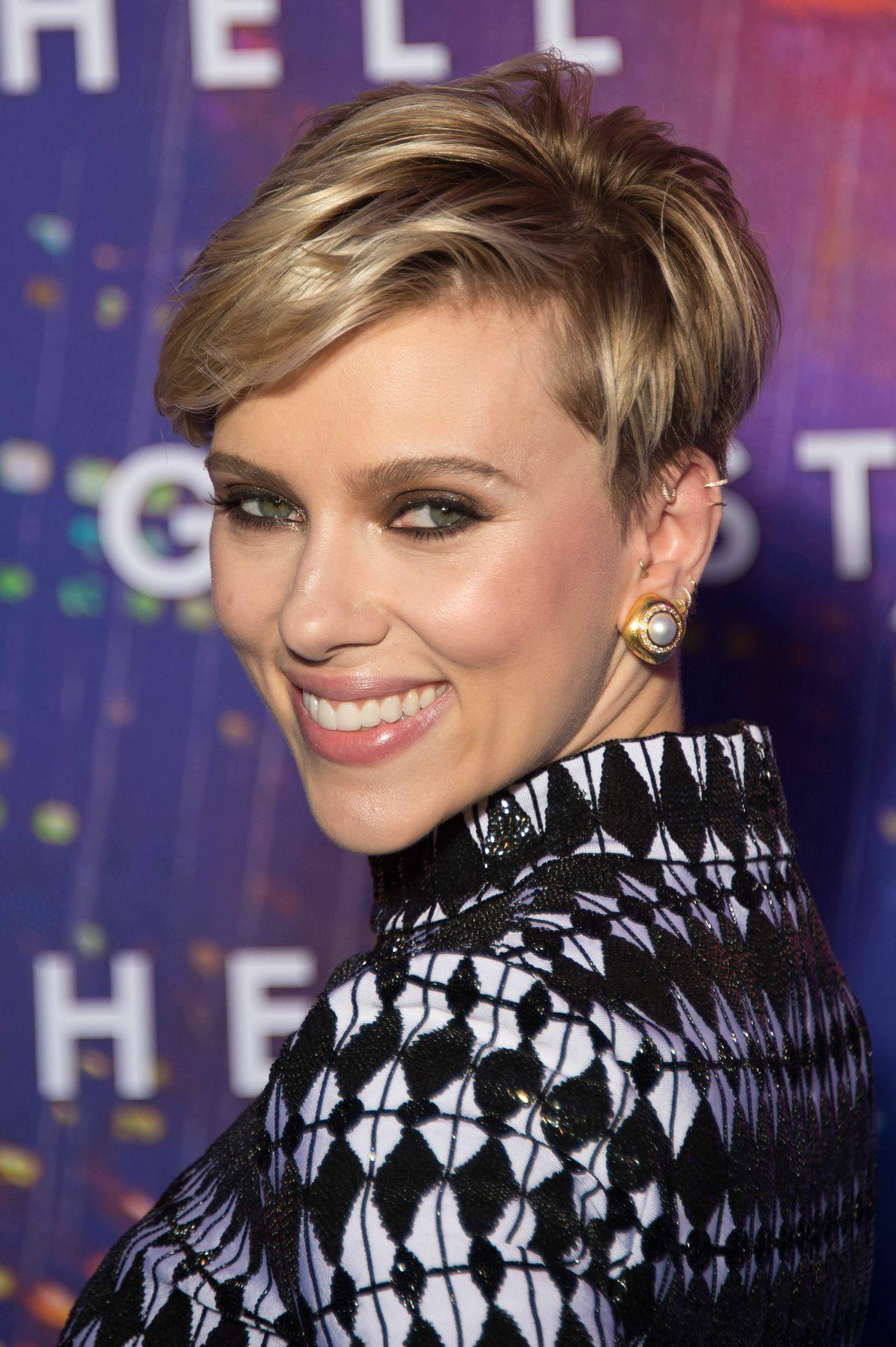 Scarlett Johansson Ghost