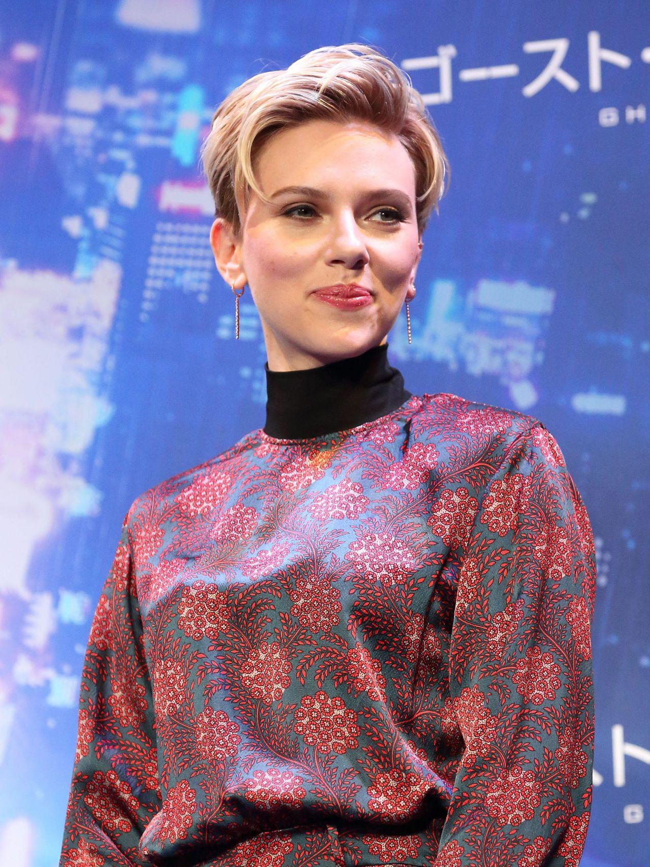Scarlett Johansson Ghost In The Shell Premiere In Tokyo Japan 3