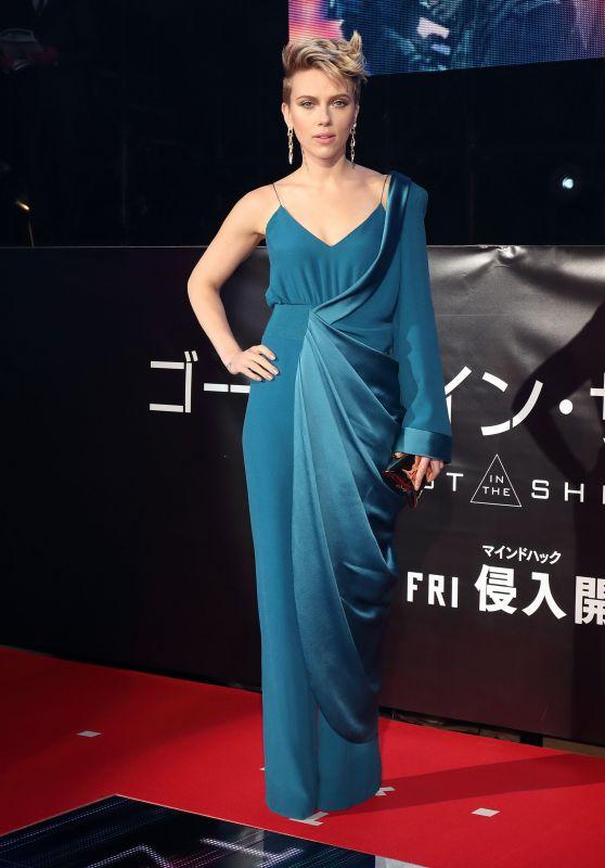 Scarlett Johansson - Ghost In The Shell Red Carpet in Tokyo 3/16/ 2017