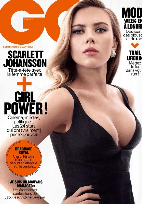 Scarlett Johansson - GQ Magazine France March 2017 Issue