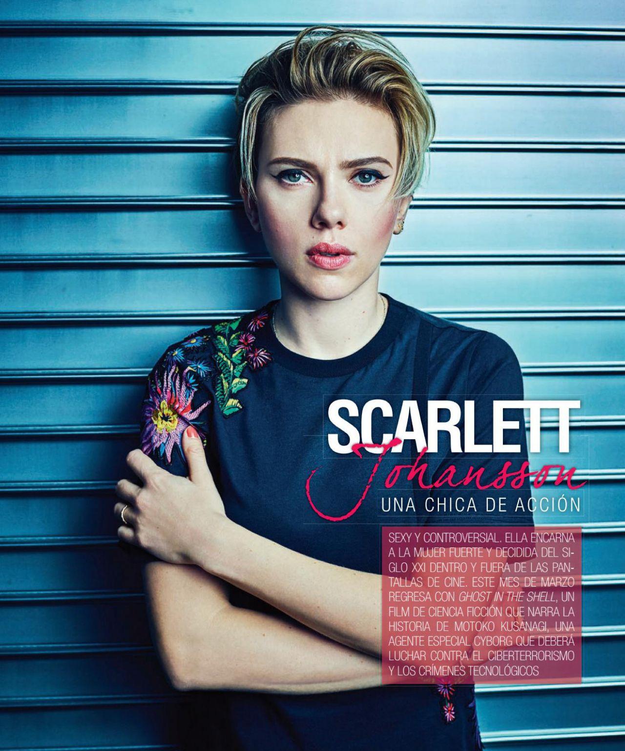Johansson scarlett vanity fair march video