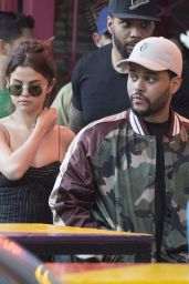 Selena Gomez With The Weeknd in Buenos Aires 3/28/2017