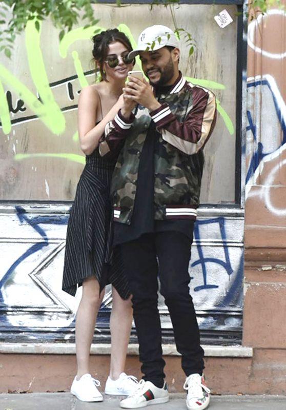 Selena Gomez With The Weeknd - Out in Buenos Aires 3/28/2017