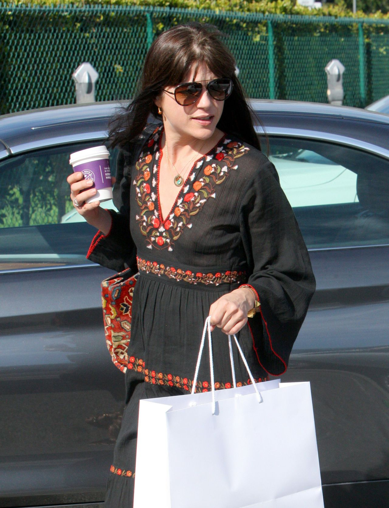 Selma Blair Goes Shopping With Her Boyfriend - Beverly ...