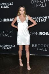 Sierra Furtado at 'Before I Fall' Premiere in Los Angeles 3/1/ 2017