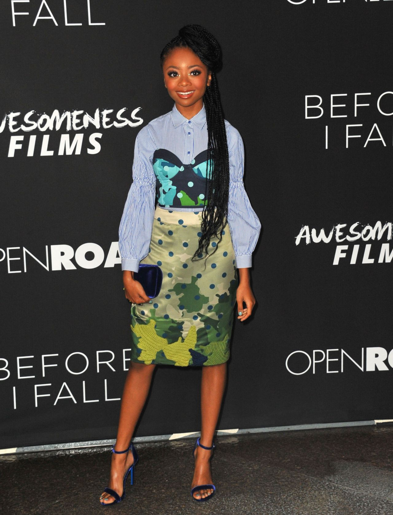 Skai Jackson At Before I Fall Premiere In Los Angeles 3