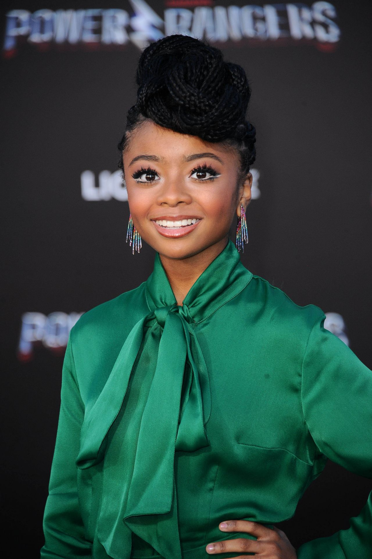Skai Jackson Power Rangers Premiere In Los Angeles 3 22 2017