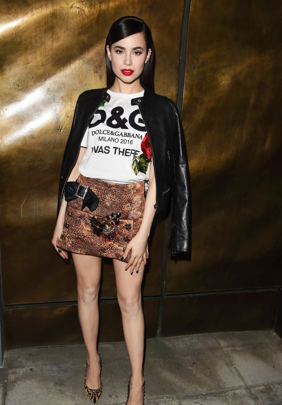 Sofia Carson – Dolce & Gabbana New Vision and Millennials Party in Los Angeles 3/23/ 2017