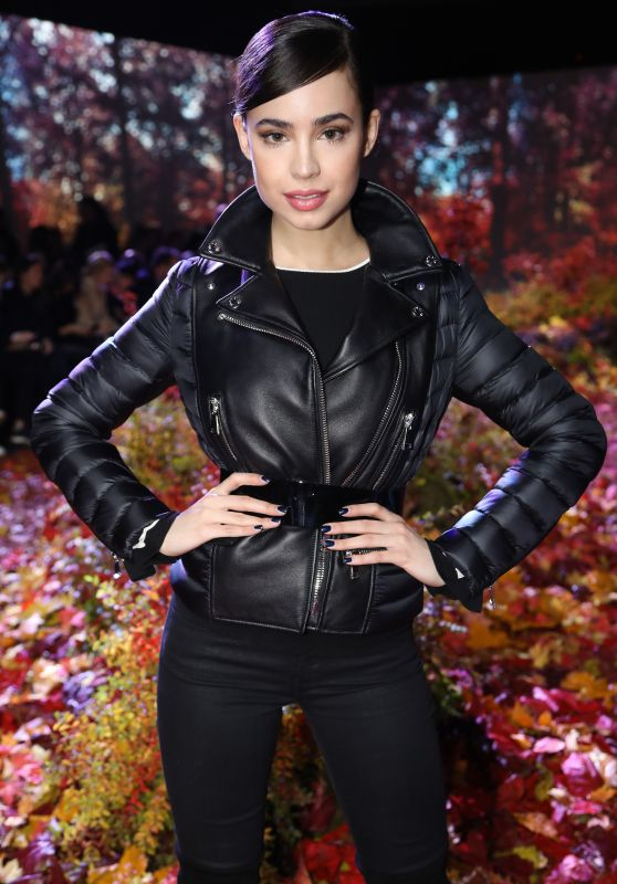 Sofia Carson - Moncler Gamme Rouge Show at Paris Fashion Week 3/7/ 2017