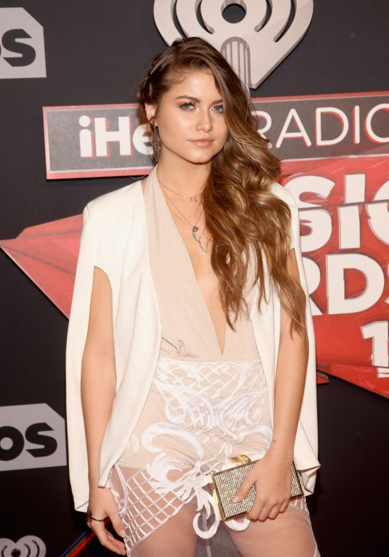 Sofia Reyes – iHeartRadio Music Awards in Inglewood 3/5/ 2017