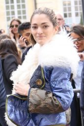 Sofia Sanchez de Betak – Arriving at the Dior Fashion Show in Paris 3/5/ 2017