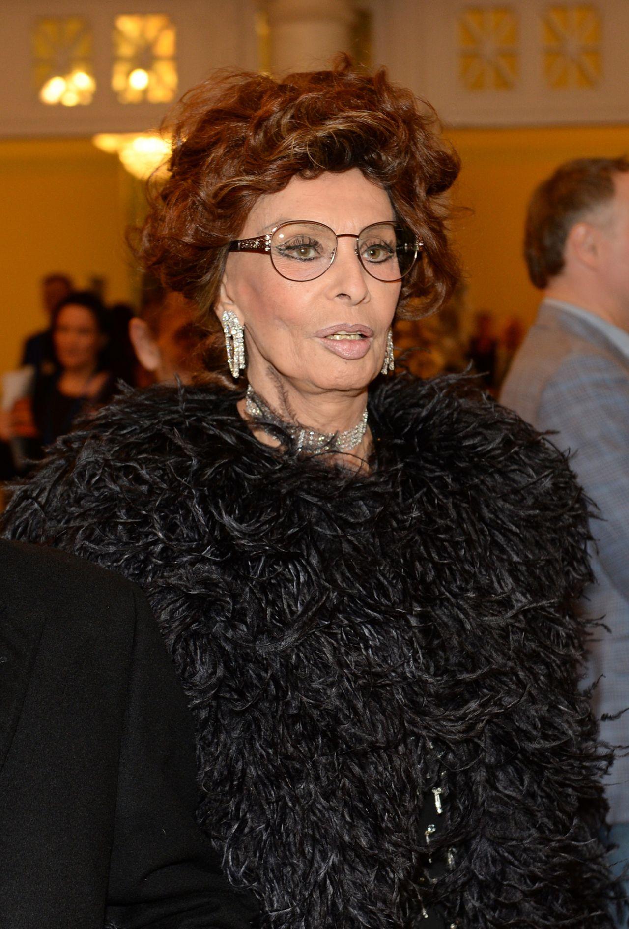 Sophia Loren Bravo Awards 2017 Ceremony In Moscow