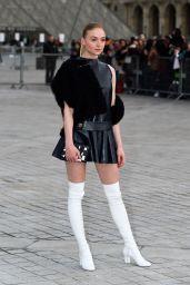Sophie Turner Attends Louis Vuitton Show - Paris Fashion Week 3/7/ 2017