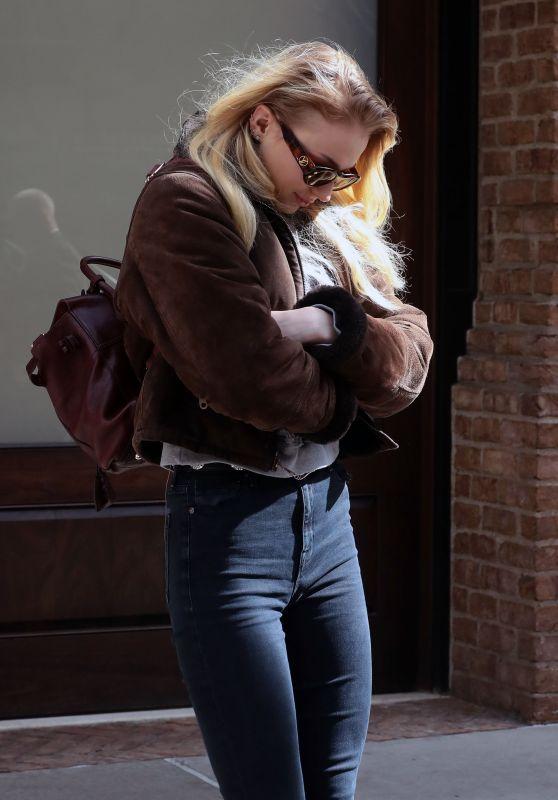 Sophie Turner  in New York City 3/4/ 2017