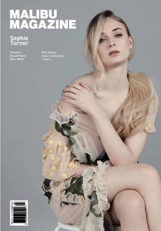 Sophie Turner - Malibu Magazine April 2017 Issue
