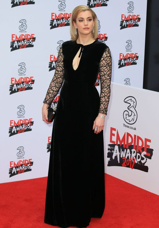 Stefanie Martini at Three Empire Awards in London 3/19/ 2017