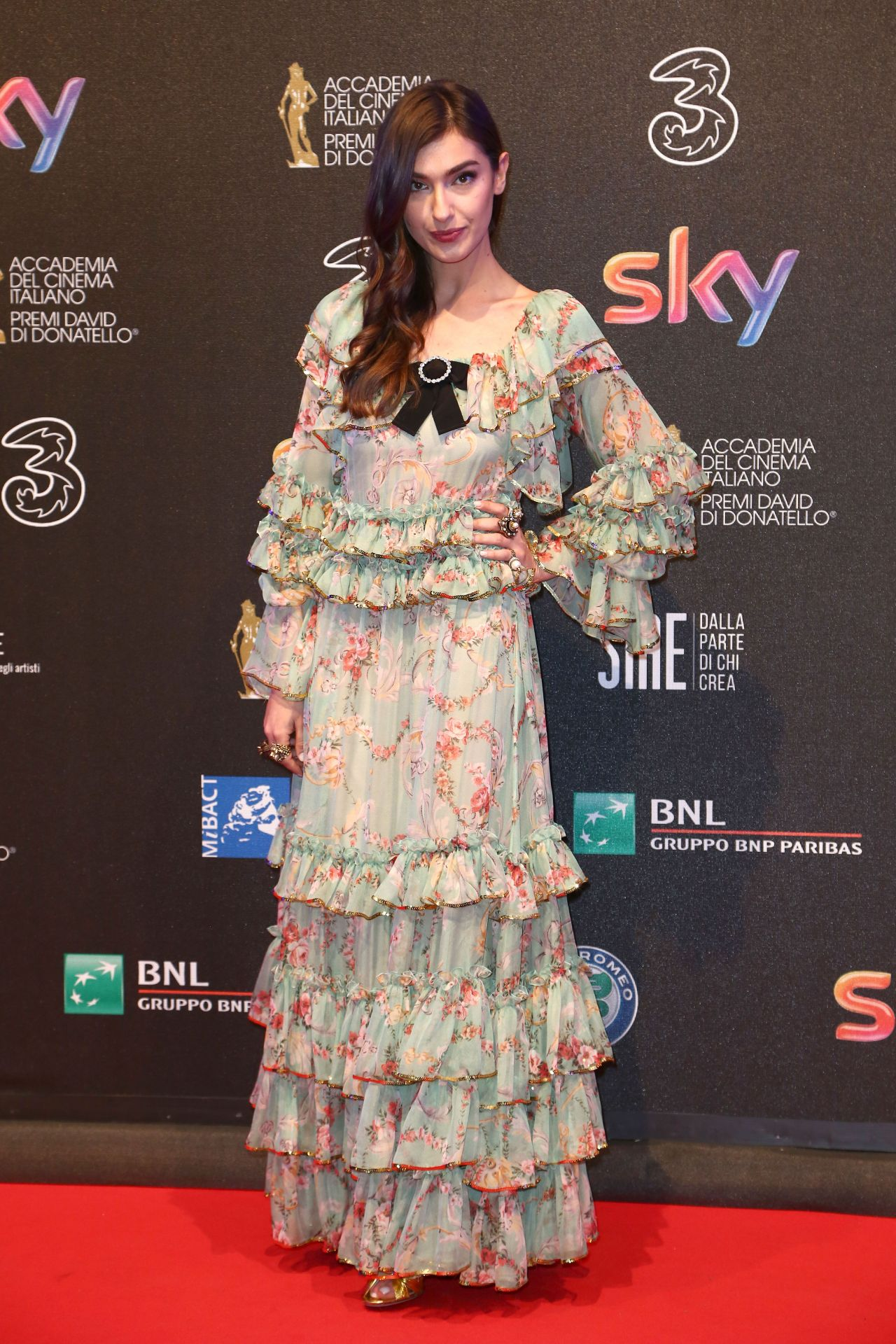 Stella Egitto - David di Donatello Awards in Rome 3/27