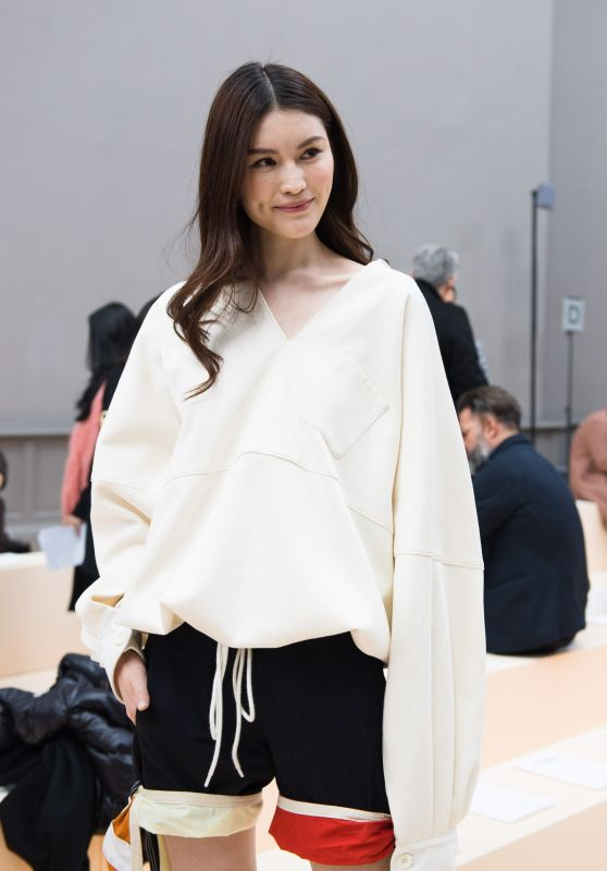 Sui He at Paris Fashion Week - Chloe Show 3/2/ 2017