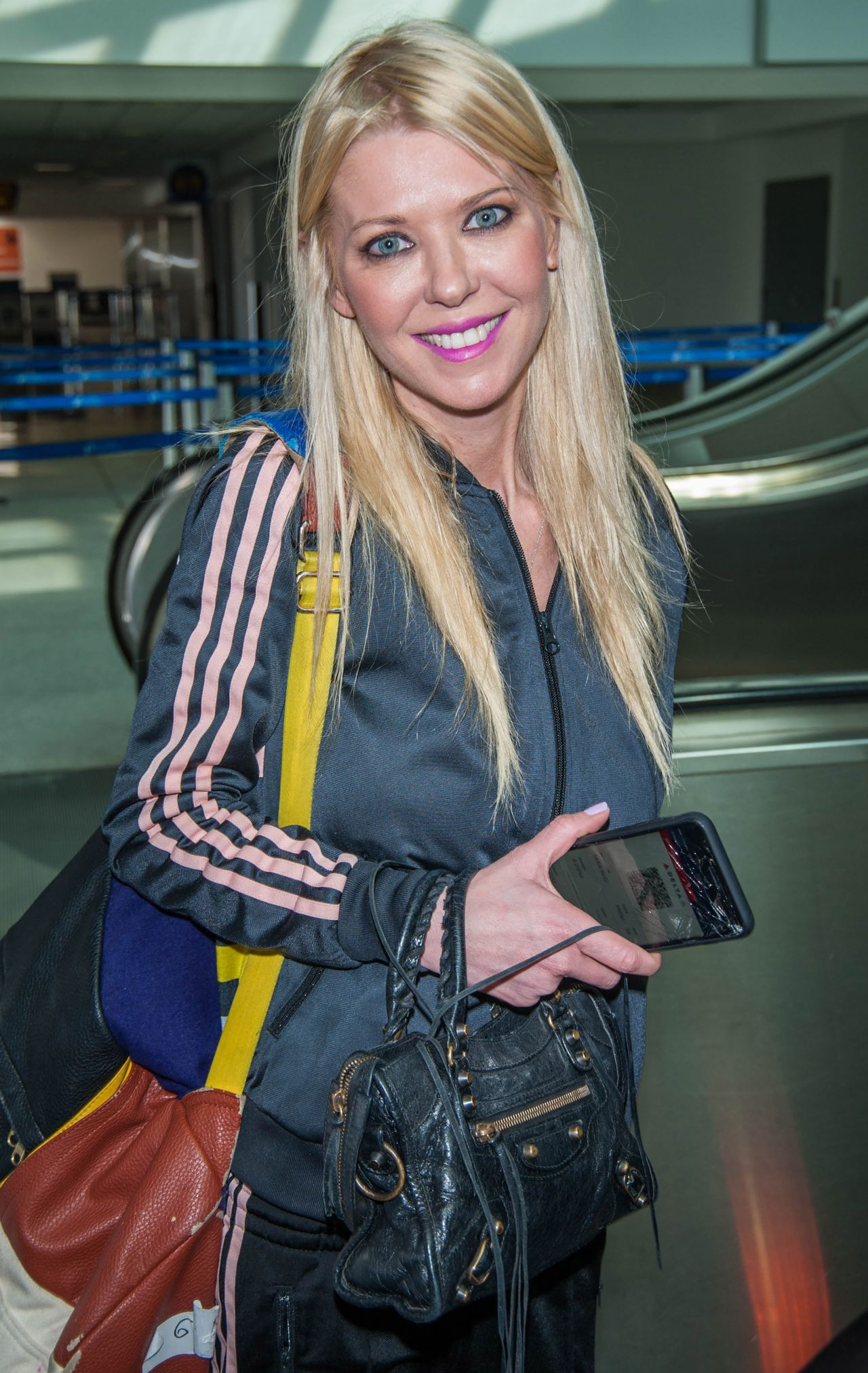 Tara Reid at LAX Airport in Los Angeles 3/19/ 2017