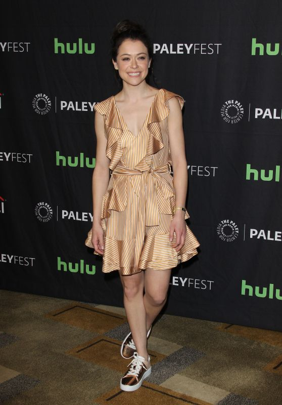 Tatiana Maslany - Paleyfest LA,