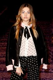 Thylane Blondeau at Paris Fashion Week – Miu Miu Show 3/7/ 2017