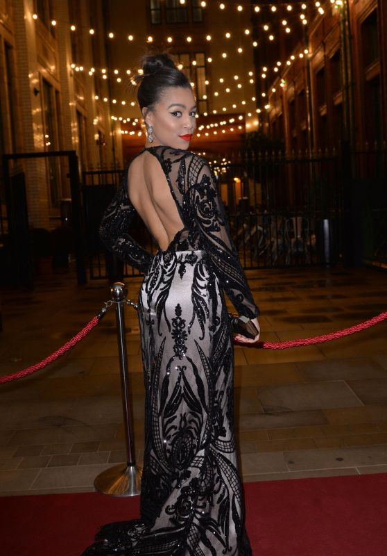 Tisha Merry - Christie Charity Ball in Manchester 3/18/ 2017