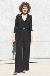 Valeria Golino at Milan Fashion Week – Armani Show Arrivals 2/27/ 2017