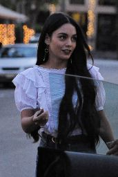 Vanessa Hudgens at Nine Zero One Hair Salon in LA 3/15/ 2017