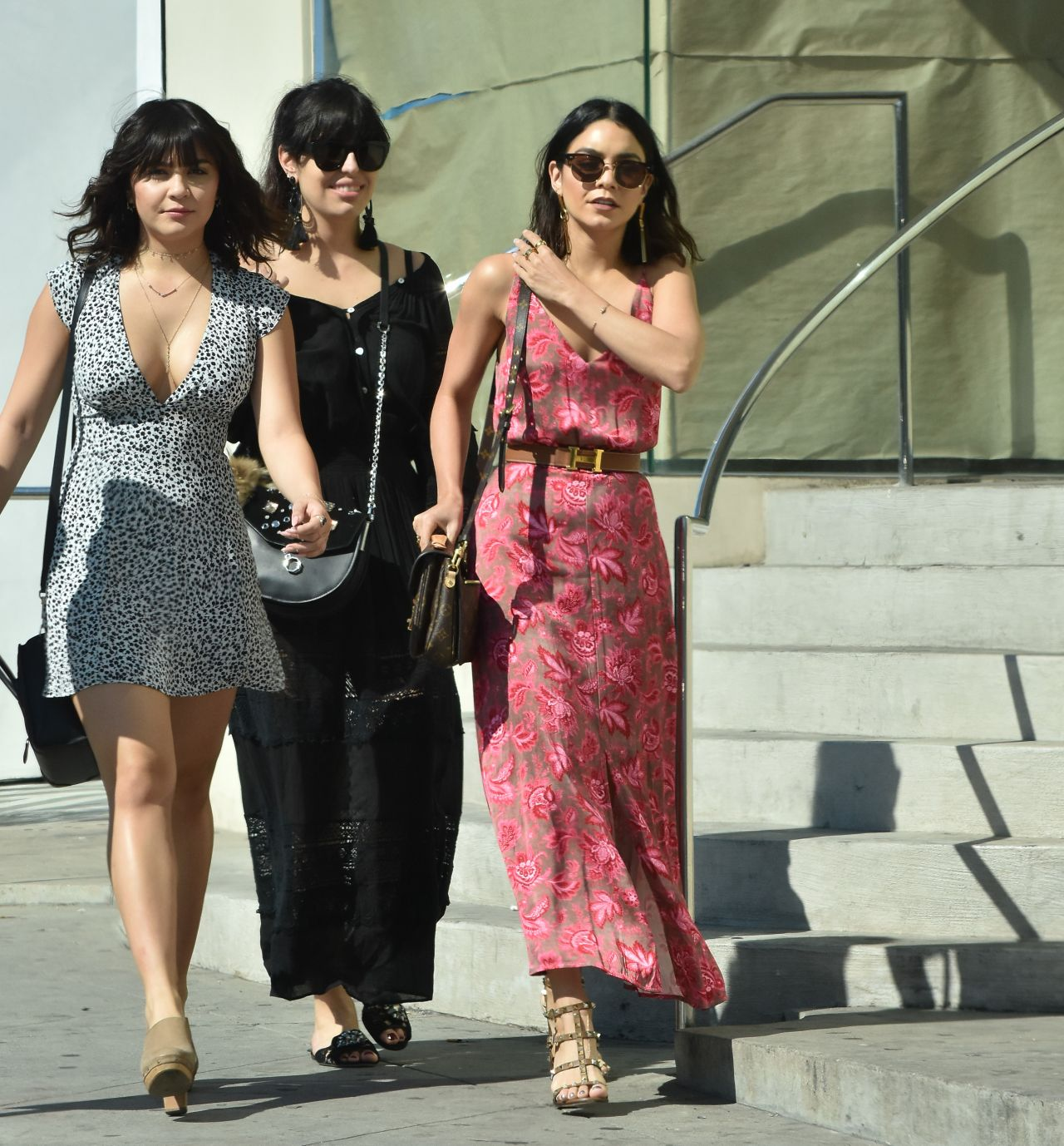 Vanessa Hudgens Casual Style - Out With a Friend in West ...