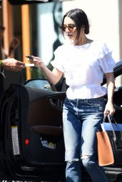 Vanessa Hudgens - Shopping on Melrose Place in LA 3/15/8 2017