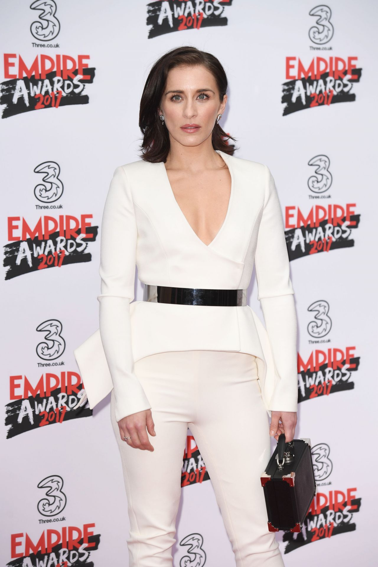 Vicky Mcclure On Red Carpet Three Empire Awards In