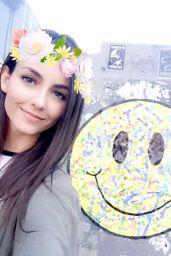 Victoria Justice - Celebrity Social Media 3/19/ 2017