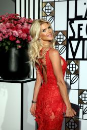 Victoria Silvstedt - Rose Ball in Monte Carlo 3/18/ 2017