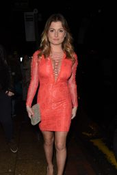Zara Holland Night Out Style - Arriving at The Living Room in Manchester 3/3/ 2017