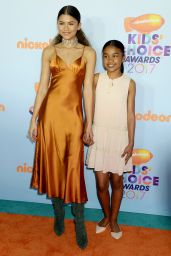 Zendaya – Nickelodeon's Kids' Choice Awards in Los Angeles 03/11/ 2017
